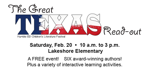 The Great Texas Read-Out Literature Festival